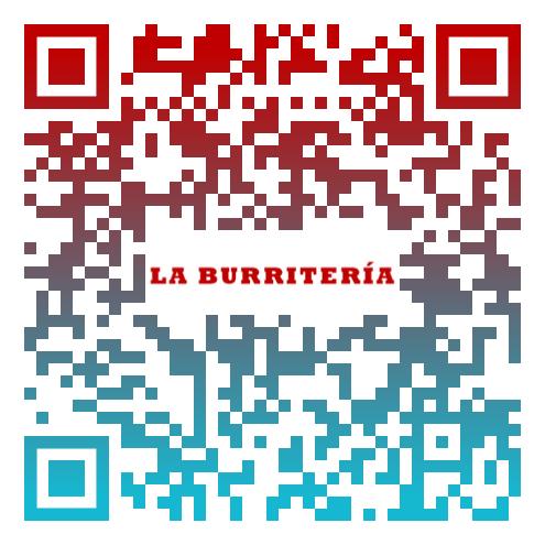 QR La Burritería Personalizado